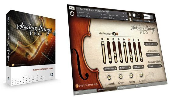 NI Session Strings Pro Conjunto Moderno de Cuerda VST
