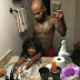 This dad is being criticized for how close he stood behind his daughter in IG selfie