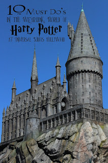 Hogwarts The Wizarding World of Harry Potter Universal studios Hollywood.