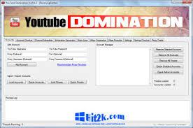YouTube Domination 1.0.1.2 Crack Free Download Full Version