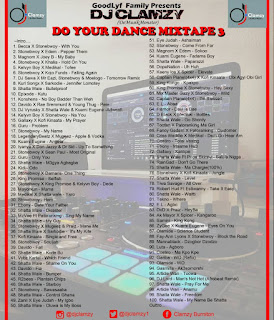 DJ Clamzy - DO YOUR DANCE MIXTAPE 3