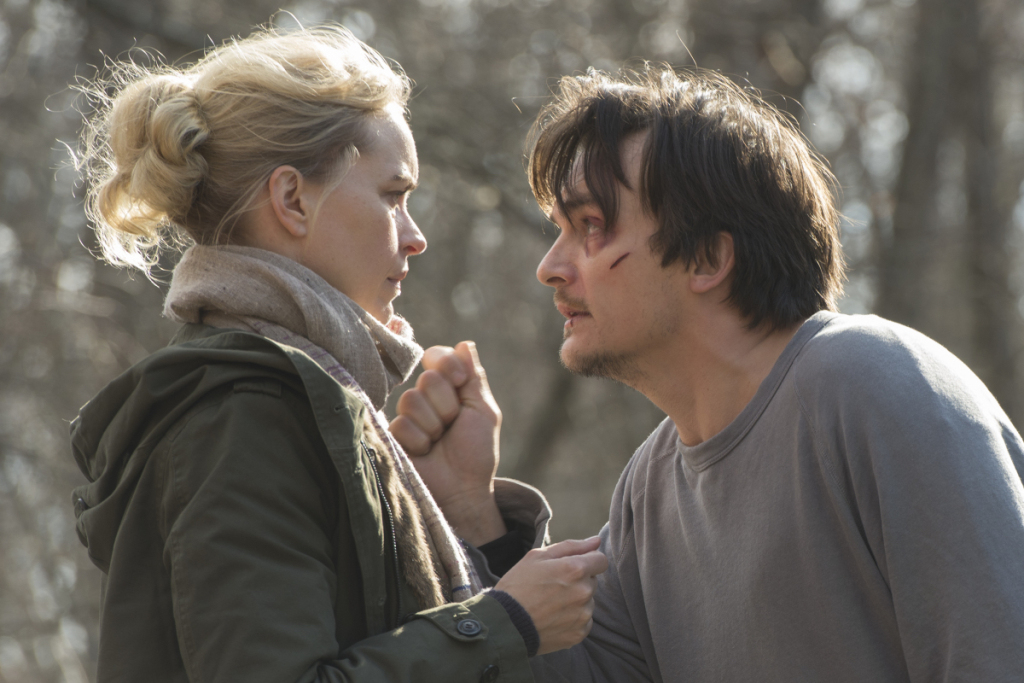 Astrid y Quinn en 'Homeland'