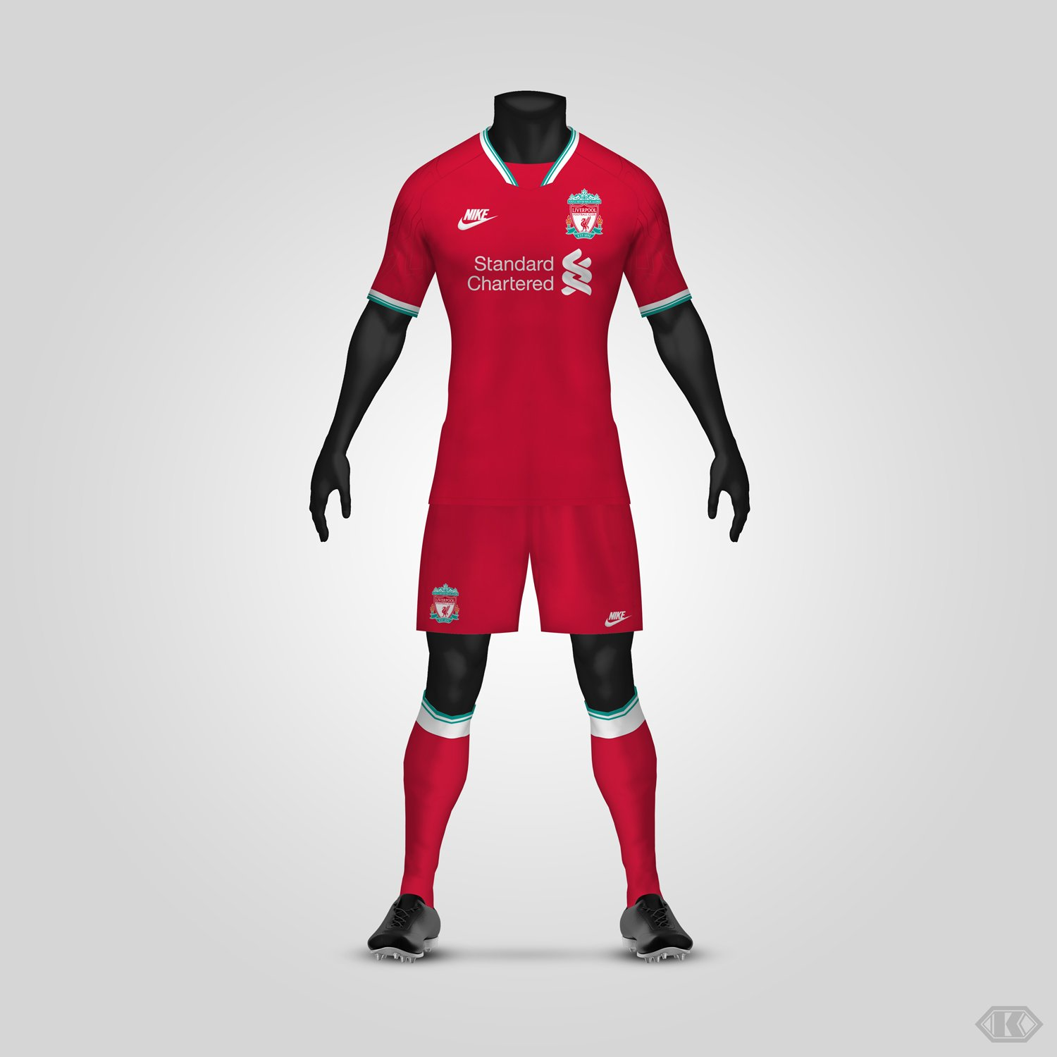 new style f499b 16368 Dream League Soccer Liverpool Kit 2019