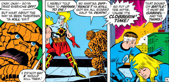 The Peerless Power of Comics!: At Clobberin' Time, The