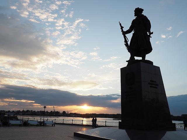 Иркутск, Нижняя набережная (Irkutsk, Lower Embankment)