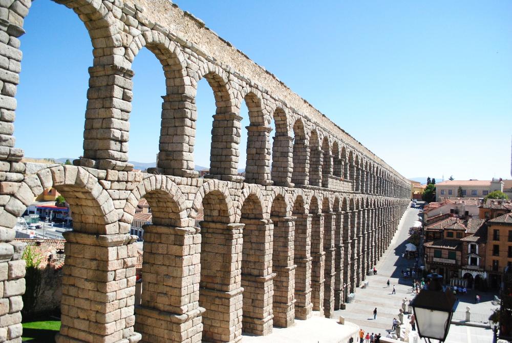 4 2 roma iniciarse en la arquitectura - Acueducto de segovia arquitectura ...