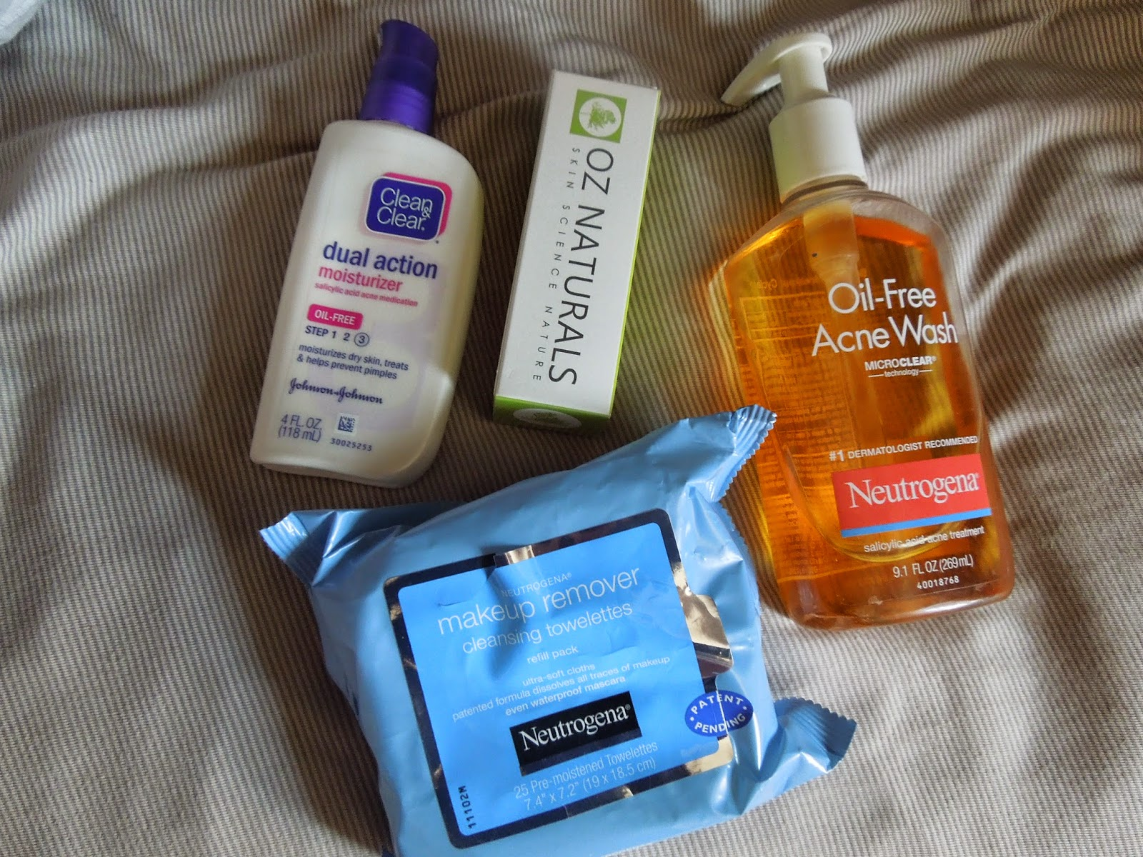 Sew Cute My Skincare Routine Oz Naturals Review
