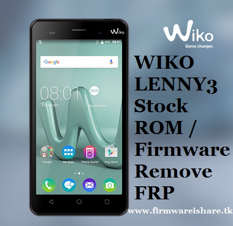 FRP ] WIKO LENNY 3 REMOVE FRP BYPASS GOOGLE ACCOUNT VERSION 6 0 AND