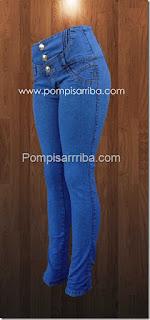 Pantalones para dama en el d.f. levanta pompa