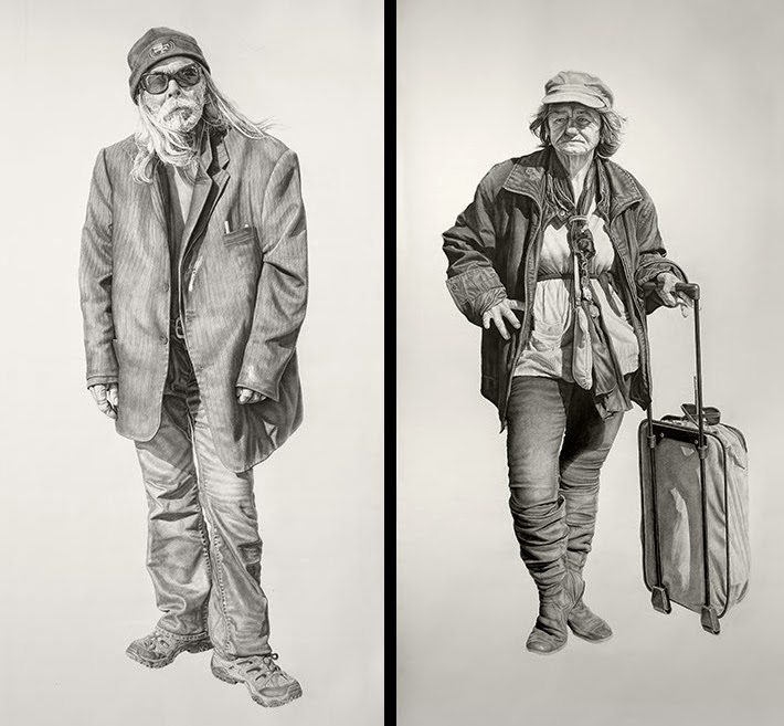 07-Lucky-and-Mommalisa-Joel-Daniel-Phillips-Drawings-of-forgotten-People-in-front-of-Us-www-designstack-co