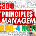 Module-4 Note for Principles of Management HS300 | S5 S6 Common Subject