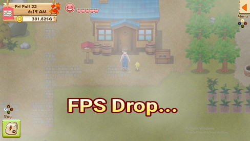 7 Weather and its effects in Harvest Moon: Light of Hope