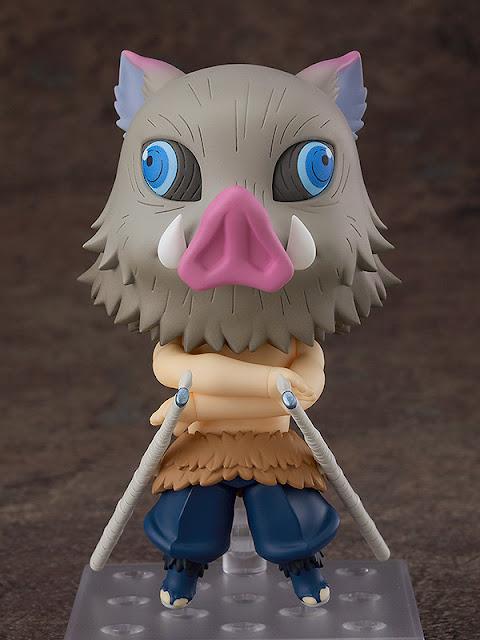 Figuras: Nendoroid Inosuke Habashira de Kimetsu No Yaiba - Good Smile Company