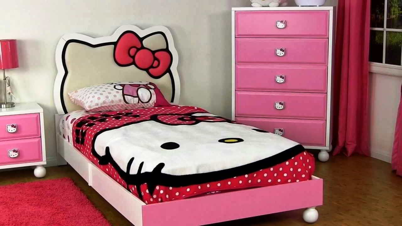 Model Desain R Tidur Hello Kitty Lucu