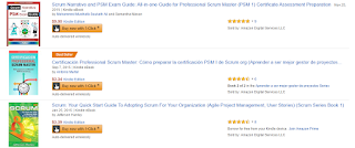 Certificación Professional Scrum Master best seller en Amazon.com