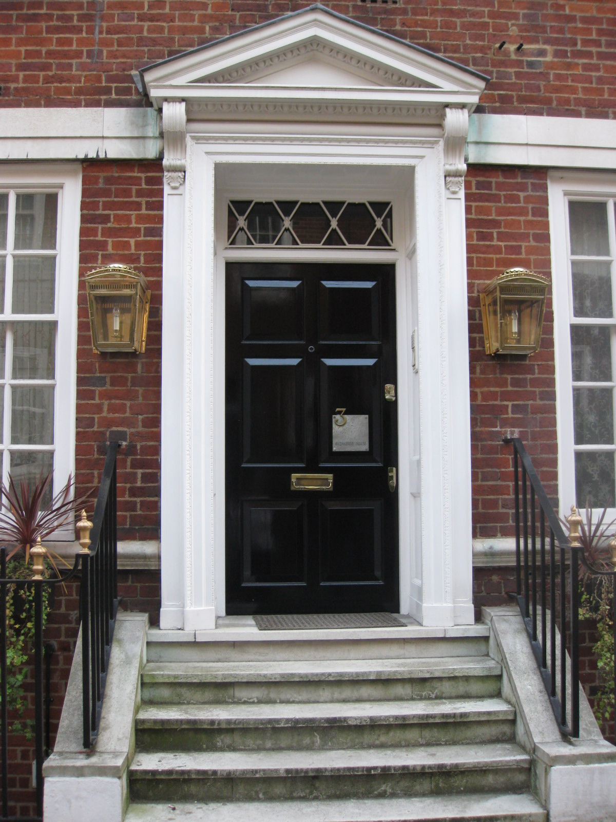 The Adorned Home Black Doors