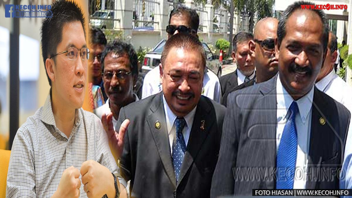 Akibat BERSATU Terima bekas ADUN Behrang Ketua Pemuda DAP Rasa Kecewa