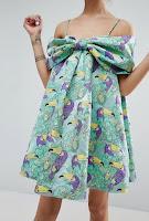 Robe courte Toucans