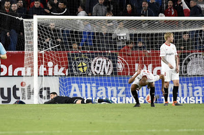 Crónica Sevilla FC 2 - FC Barcelona 2