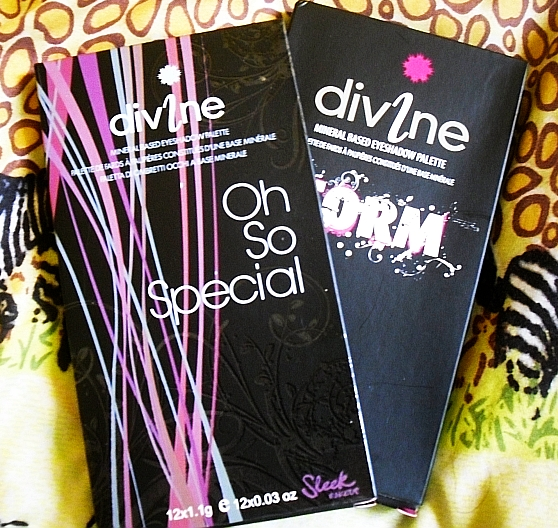 Sleek makeup iDivine palettes: Oh So Special & Storm Review & Swatches!