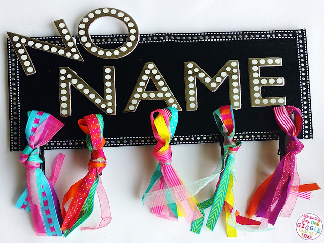 Learn how to make a No Name Board for your classroom to help manage your paperwork and your sanity!