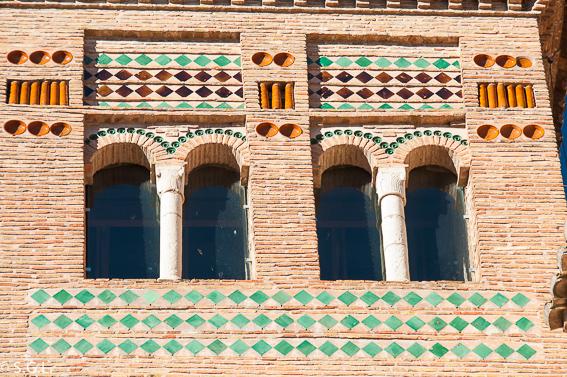 Detalle mudejar. Visitando Teruel, del mudejar al modernismo