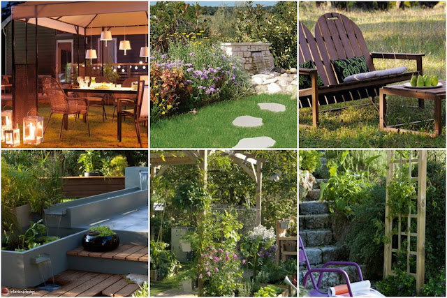 Romantic Garden Decorating Ideas