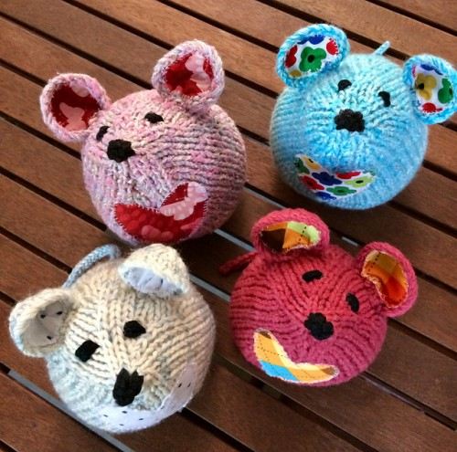 Tea Mouse - Knitting Pattern