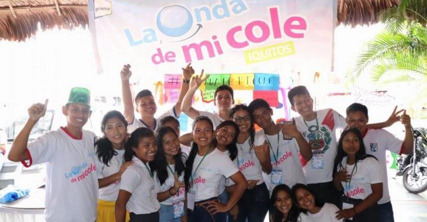 Más de 32 mil escolares de Loreto se movilizaron por sus derechos con «La onda de mi cole»