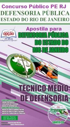 Concurso Defensoria Pública do Rio de Janeiro.