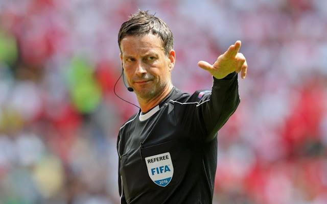 Ini wasit Portugal vs Prancia di final Euro 2016