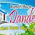 Pembukaan Rumah Baca yang diberi nama Dandelion