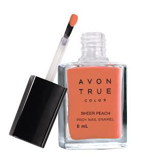 Avon True Color Nail Wear Pro+ Nail Enamel - Sheer Peach - MRP 149