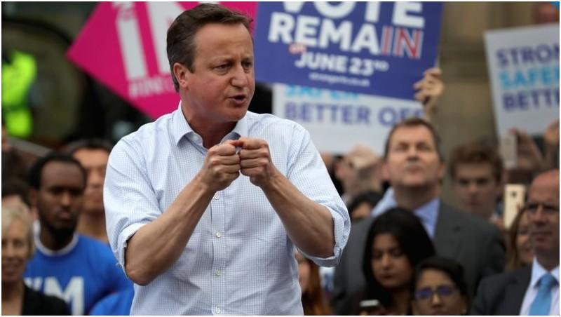 David Cameron yang setuju Inggris bertahan di Uni Eropa