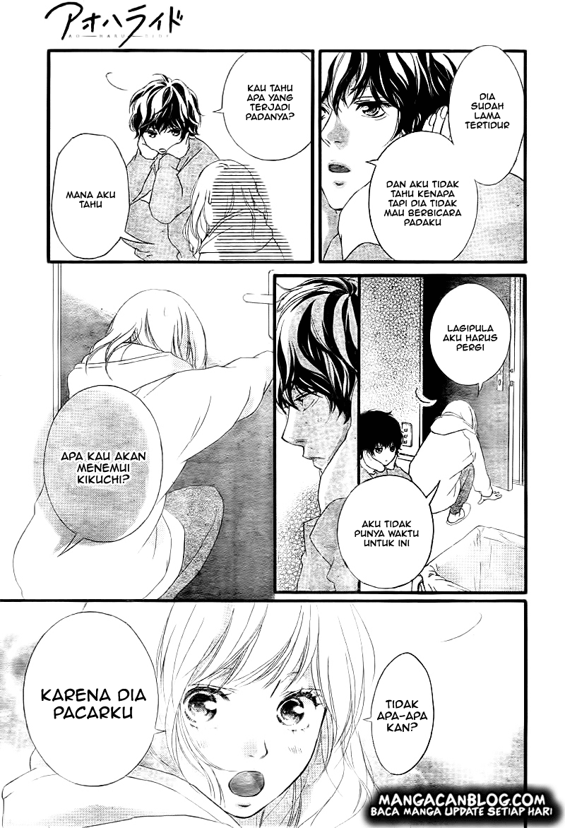 Ao Haru Ride Chapter 37-8