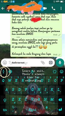 ss of Cara Copy Banyak Kalimat dan Mempaste dalam sekali klik di hp Android