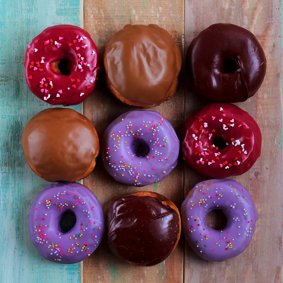 Recetas de coberturas de donuts