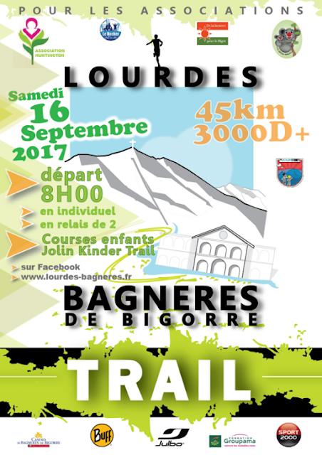 Trail Montagne Lourdes Bagnères de Bigorre 2017
