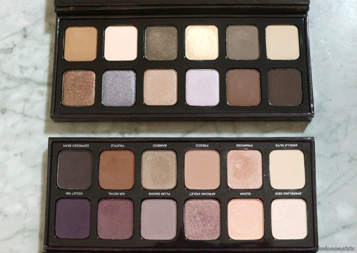 Top: Laura Mercier Extreme Neutrals Eyeshadow Palette Bottom: Laura Mercier Eyes Art Artist Eyeshadow Paette (2015 edition)