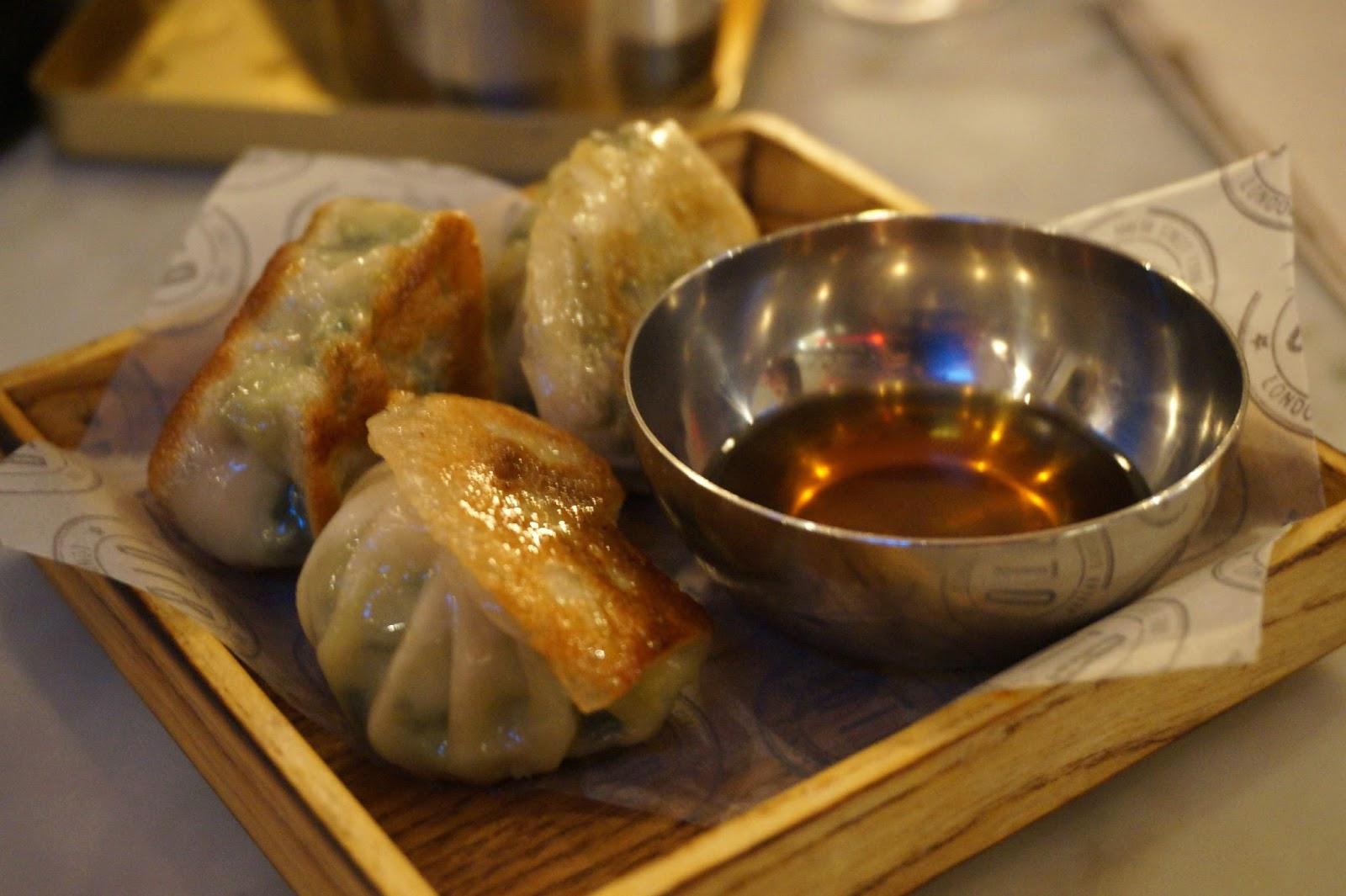 Korean steamed dumplings