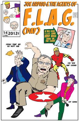 Flag Day Boy George Sheriff Joe Arpaio Amazing Arizona Comics superheroes