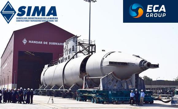 ECA Group modernizará los 16 convertidores de los 4 submarinos 209  peruanos