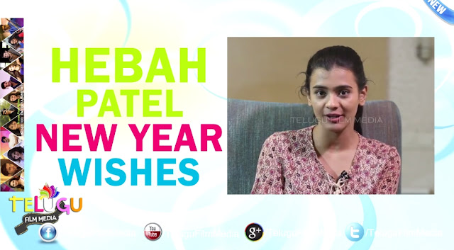 Telugu Celebrity Hebah Patel New Year Wishes Happy New Year 2016