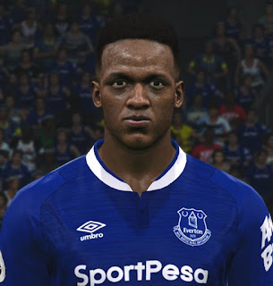 PES 2017 Faces Yerry Mina by ABW_FaceEdit