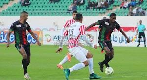 حسنية اكادير يحقق الفوز على فريق الجيش الملكي بهدفين لهدف في الدوري المغربي