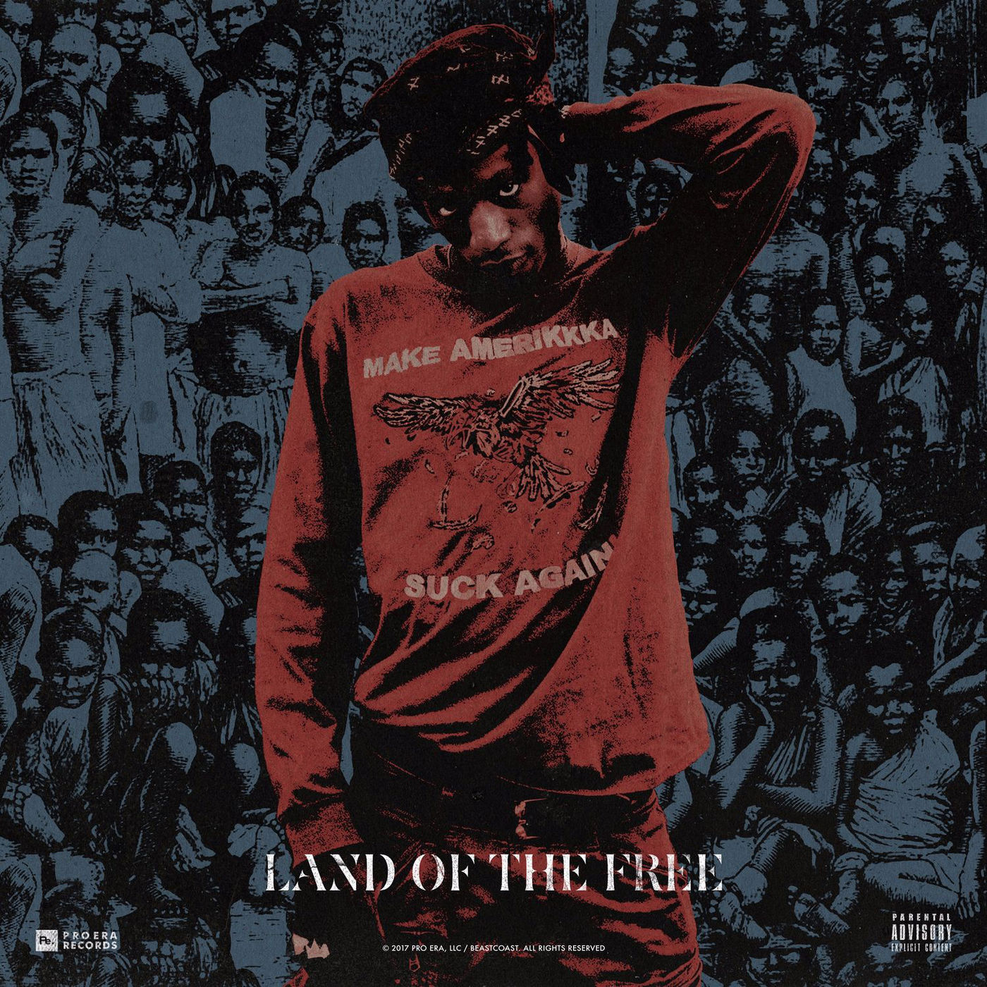 Joey Bada$$ - Land of the Free - Single Cover