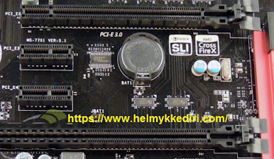Cara kerja baterai CMOS pada komputer