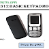 BQ Q312 Basic Keypad Mobile Phone with Camera & Audio Player [17% off]