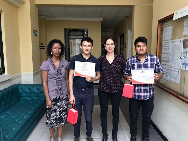 Carlos Picho y Juan Francisco López reciben el Premio PASEC Estudiante