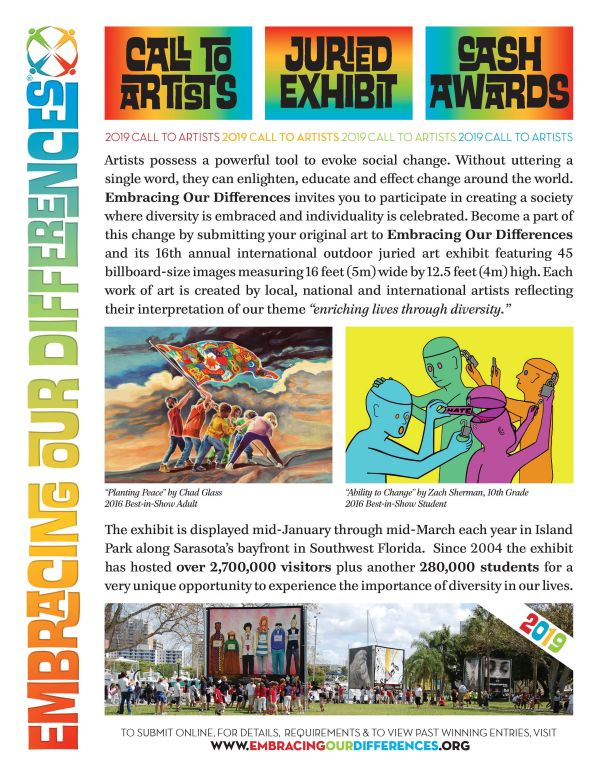Embracing Our Differences 2019 - International Art Contest